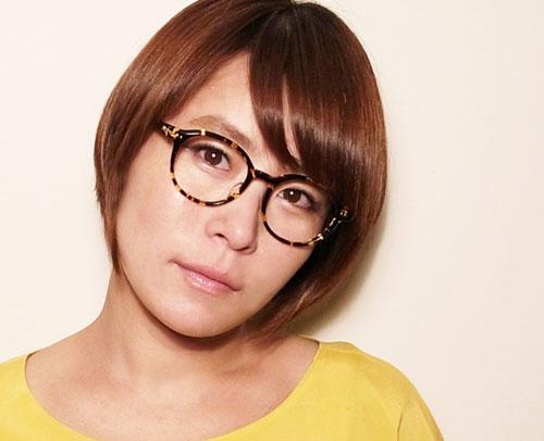 megane and me(メガネアンドミー)のデザイナー塚越清香さん。