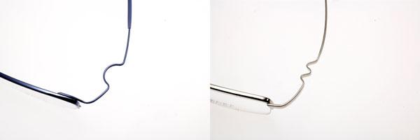眼鏡市場の新作メガネ ZEROGRA(ゼログラ)は独自の「スマートアーム構造」を採用。一般的なメガネフレームと異なり、蝶番(蝶番)がないのが特徴。