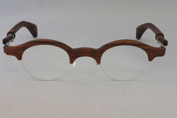 木製メガネ CRAD(クラッド)。希望小売価格:200,000円。