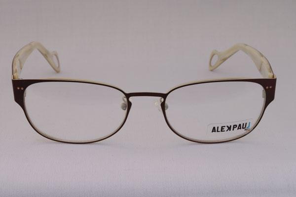 ALEK PAUL(アレック ポール)2011年春夏新作メガネ AP1083 カラー:02。
