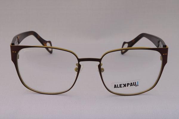 ALEK PAUL(アレック ポール)2011年春夏新作メガネ AP1084 カラー:02。