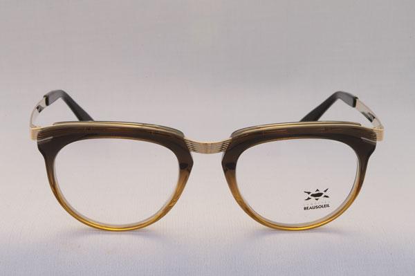 BEAUSOLEIL(ボーソレイユ) 2011SS 新作メガネ C11 カラー:005。