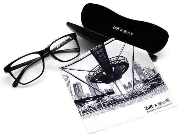 (写真1)Zoff(ゾフ) x 3月のライオン 桐山零コラボメガネ 価格:5,250円(標準レンズ付き)。image by インターメスティック。
