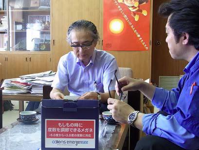 (写真3)佐々木一十郎 宮城県名取市長。image by アドレンズ ジャパン。