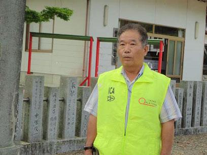 (写真4)八島勇 新地町議会議員。image by アドレンズ ジャパン。