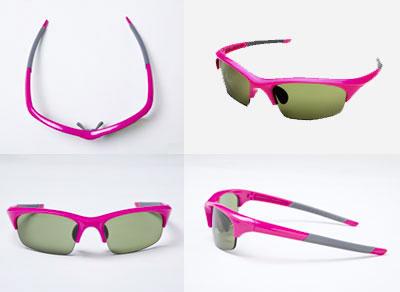【写真6】JINS Golf(ジンズゴルフ) サイズ:M SG-11N-9002。カラーはピンク(写真)、パープル、ホワイト、ブラックの4色。image by JINS