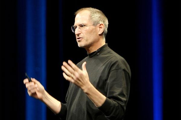 米アップル社の創業者で前CEO(最高経営責任者)のスティーブ・ジョブズ氏。photo by acaben on Flickr