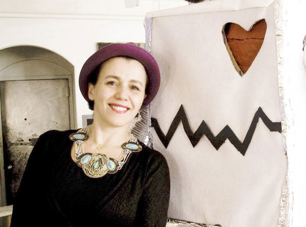 (写真4)Selima Optique(セリマ オプティーク)のデザイナー セリマ・サラウンさん。image by EROTICA