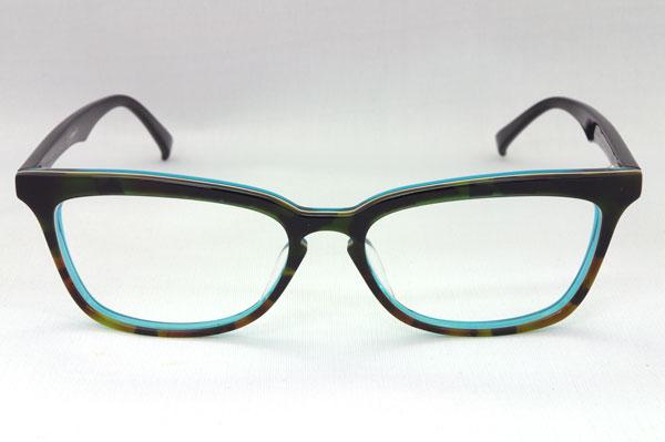 (写真1)PROPO DESIGN(プロポ デザイン) 2011AW新作 PD-209 カラー:419/64 を正面から見たところ。