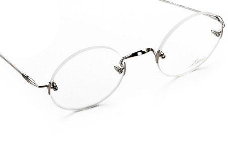 (写真2)ジョブズ氏が愛用したメガネ Lunor(ルノア) Classic Round。
