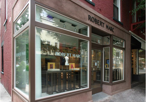 (写真3)ニューヨーク・ブリーカーストリートにある ROBERT MARC(ロバート マーク)のショップ。