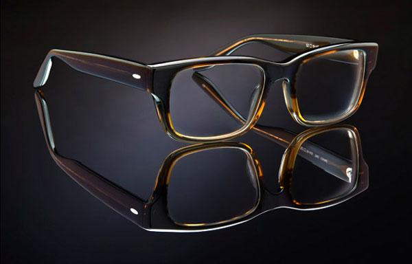 ブラッド・ピットさん愛用のメガネ BARTON PERREIRA(バートン ペレイラ) CAINE カラー:TORTUGA GRADIENT。