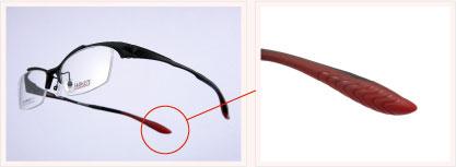 (写真8)i-ATHLETE(アイ・アスリート)は、汗や激しい動きに強い「ヘッドグリップラバー」を採用。