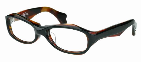 Qbrick(キューブリック)BTY4202 カラー:2Face Tartoiseshell。希望小売価格:23,000円。image by QBRICK