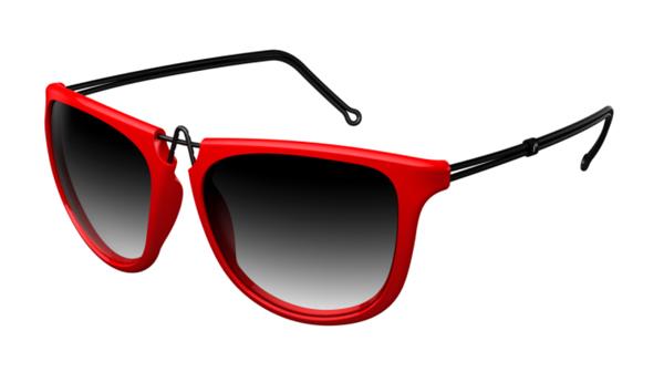 (写真1)pq eyewear designed by Ron Arad(ピーキュー アイウェア バイ ロン・アラッド)Bond Street 1112。image by BRIDGE Co.【クリックして拡大】