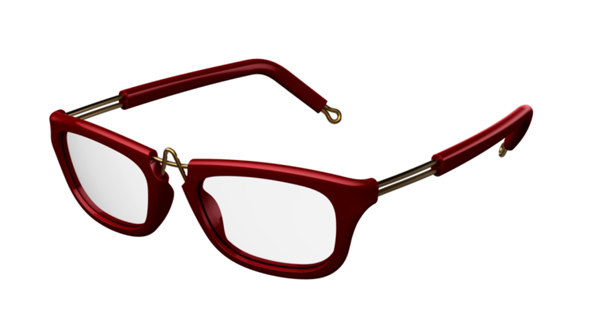 (写真4)pq eyewear designed by Ron Arad(ピーキュー アイウェア バイ ロン・アラッド)Epping 1169。image by BRIDGE Co.【クリックして拡大】
