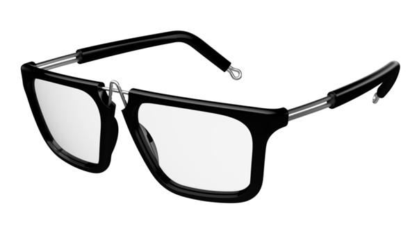 (写真6)pq eyewear designed by Ron Arad(ピーキュー アイウェア バイ ロン・アラッド)White City 1026。image by BRIDGE Co.【クリックして拡大】