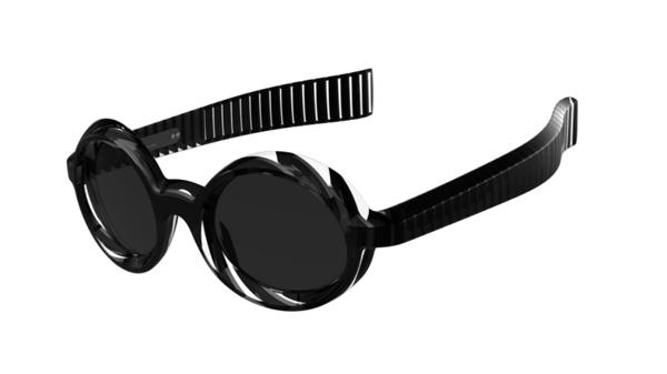 (写真3)pq eyewear designed by Ron Arad(ピーキュー アイウェア バイ ロン・アラッド)Waterloo s 3008。image by BRIDGE Co.【クリックして拡大】