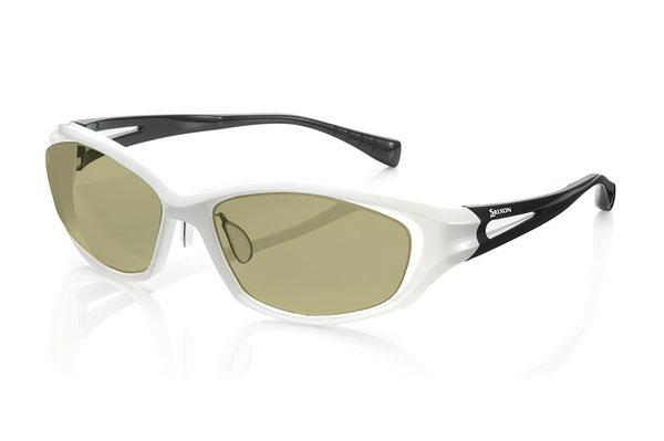 (写真2)PARIS MIKI × SRIXON ゴルフ専用メガネ・サングラス SR-503。カラー:ブラックマット/ブラックマット、ダークグレーパール/ダークグレーパール、ホワイトパール/ブラックパール(写真)。
