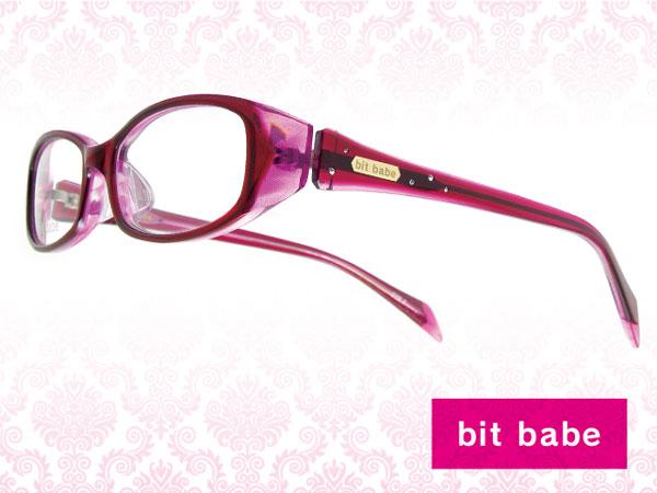 (写真2)bit babe(ビット ベイブ)2012年モデル BBH-004 カラー:1(クリアピンク・ピンクラメ)。image by Aigan