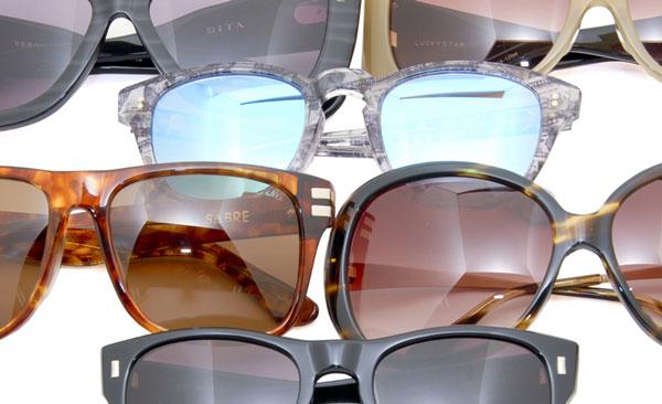 (写真1)EROTICA Sunglass ポップアップショップ 商品の一例 image by EROTICA【クリックして拡大】