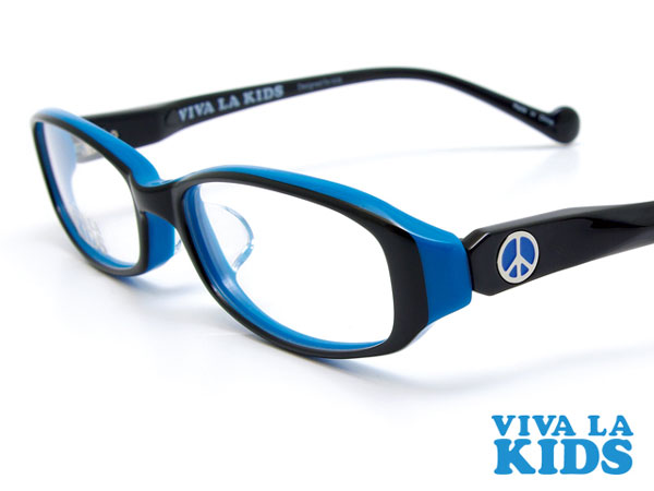 (写真5)VIVA LA KIDS(ビバ・ラ・キッズ)のテンプル(つる)は安全性を考慮したデザインとなっている。image by Aigan
