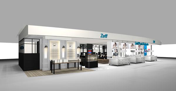 Zoff Park Hakata(ゾフ・パーク博多)の店舗イメージ。image by インターメスティック【クリックして拡大】
