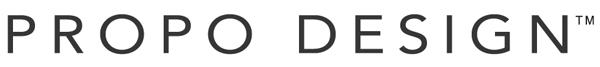 (写真5)PROPO DESIGN(プロポ デザイン)のブランドロゴ。image by PROPO DESIGN