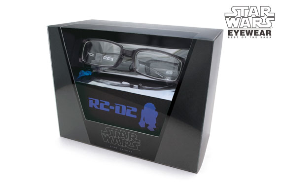 (写真11)StarWars EYEWEAR(スター・ウォーズ アイウェア)「特製デザインBOX(R2-D2)」