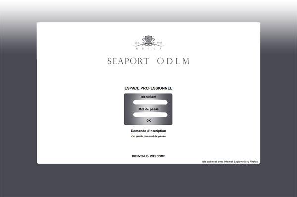 (写真)「ODLM SEAPORT」(スクリーンショット)