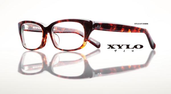 (写真1)ALOOK(アルク)XYLO(ザイロ)XYLO-07 カラー:DMBR。image by メガネトップ