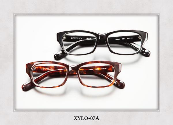 (写真5)XYLO(ザイロ) XYLO-07A。(上)カラー:BK。(下)カラー:DMBR。