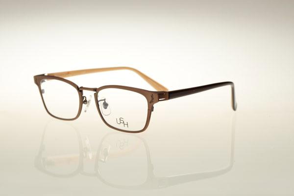 USH(アッシュ)U-022「Glasses」カラー:4 Antique Brown image by USH【クリックして拡大】