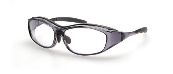 (写真1)眼鏡市場 花粉症対策用メガネ MIK-001。価格:3,150円。