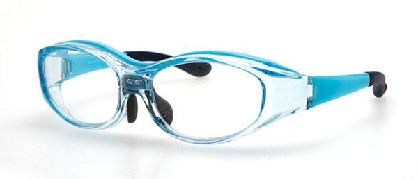 (写真3)眼鏡市場 花粉症対策用メガネ 子供用タイプ MIKJ-501。価格:3,150円。