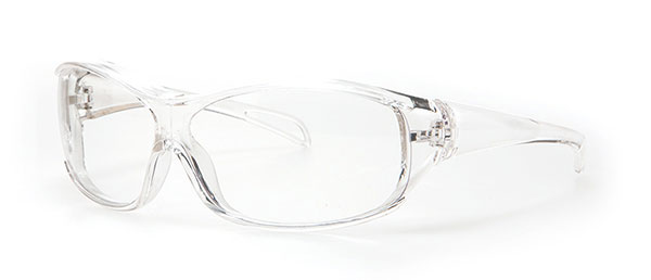 (写真4)眼鏡市場 花粉症対策用メガネ 子供用タイプ KK-100。価格:1,890円。