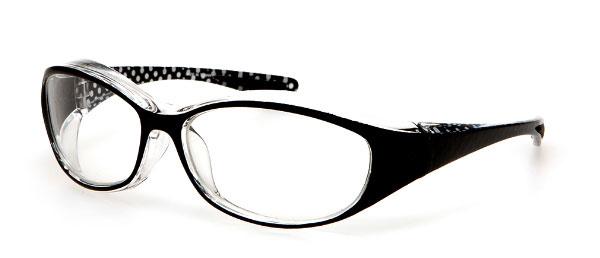 (写真7)眼鏡市場 花粉症対策用メガネ KG-201。価格:1,890円。