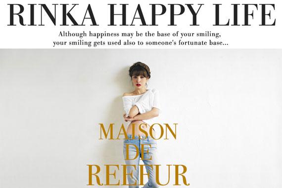 Rinka Happy Life「○スタッフよりお知らせ○」