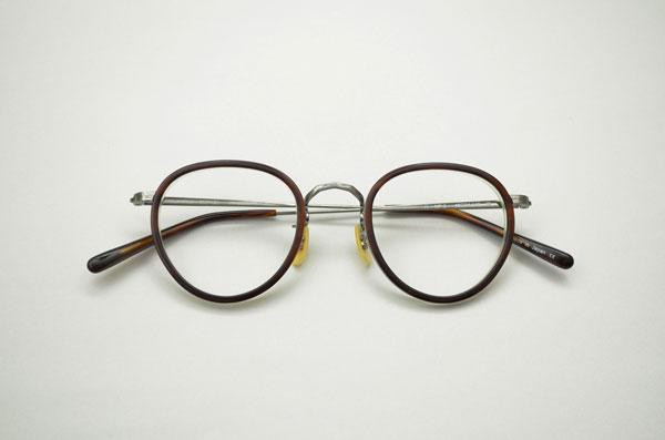 OLIVER PEOPLES × Continuer MP-2 カラー:H。価格:29,400円(フレームのみ)。image by Continuer【クリックして拡大】
