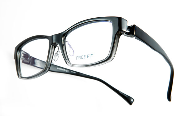 眼鏡市場 FREE FIT Ag+(フリーフィット・エージープラス)FFT-020 カラー:BKH