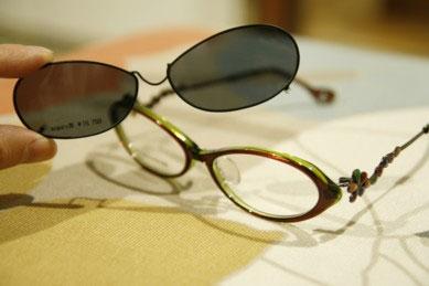 Kamuro|Kamuro Magazine 青山店|クリップオンサングラスを作れます!