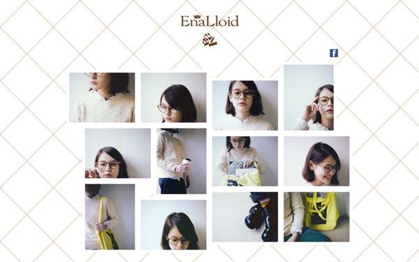 EnaLloid(エナロイド)公式サイト(スクリーンショット)