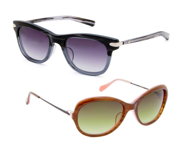 Oliver Peoples(オリバーピープルズ)サングラスの一例。image by  EROTICA【クリックして拡大】