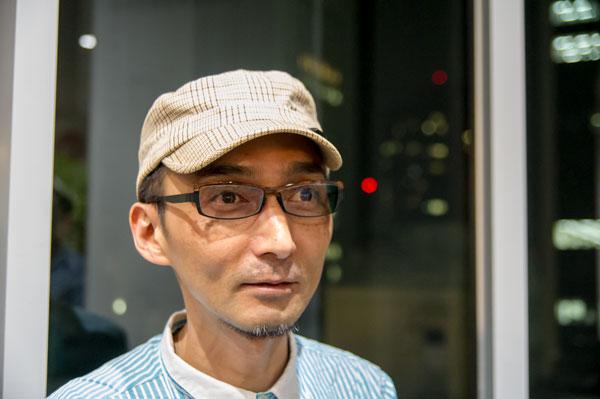 Micedraw Tokyo(マイスドロー トーキョー) BR203を掛けた筆者