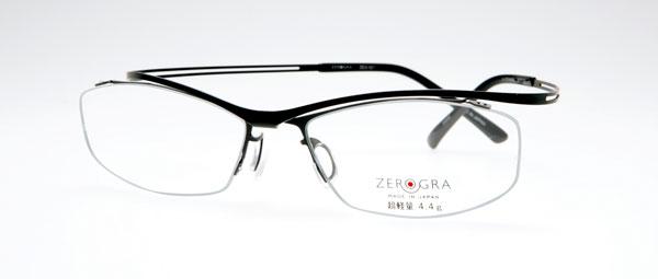 眼鏡市場 ZEROGRA(ゼログラ)ZEG-021「匠(たくみ)」 カラー:DGRM(写真)・TTS 価格:25,200円(レンズ込み) image by メガネトップ【クリックして拡大