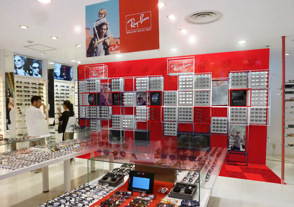 Ray-Ban Shop in Shop image by ルネッテリア 【クリックして拡大】