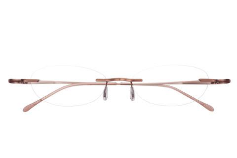 メガネスーパー「nude(ヌード)」nud-3002 カラー:1(Light Brown) 価格:19,800円