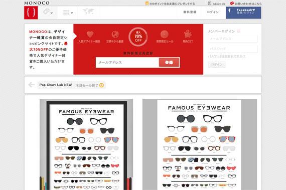 有名人が愛したメガネ | Monoco