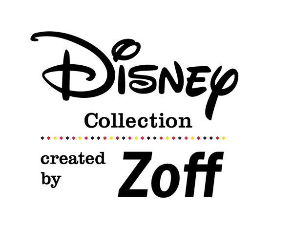 Disney Collection created by Zoff のロゴマーク。 image by インターメスティック 【クリックして拡大】