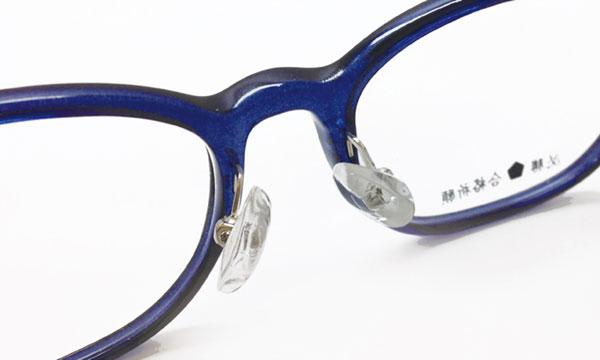 「すべらないメガネ」の「3Dノーズパッド」 image by エヌ・ティ・コーポレーション 【クリックして拡大】